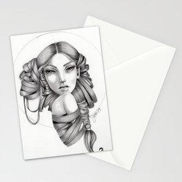 Original Graphite Illustration by Jenny Manno Stationery Cards