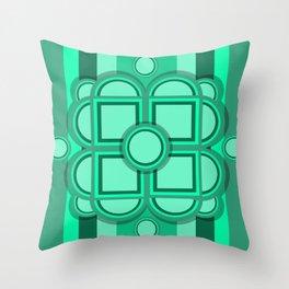 Retro Soylent Green Throw Pillow