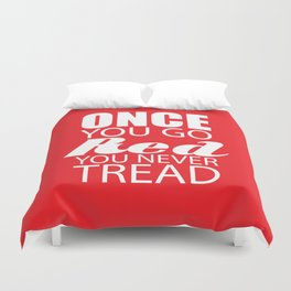 Going Red Duvet Cover