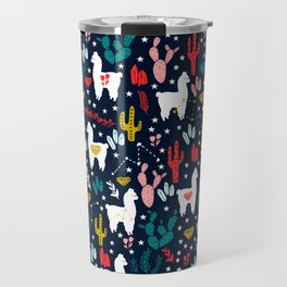 Cute Alpaca Travel Mug