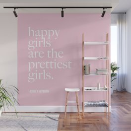 Happy Girl Pretty Girls Wall Mural