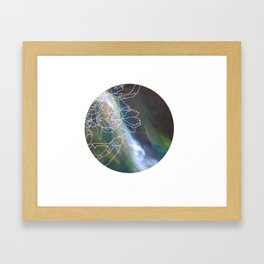 Organika Framed Art Print