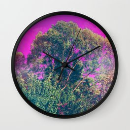 There IS No Path To Happiness, Happiness is The Path Wall Clock
