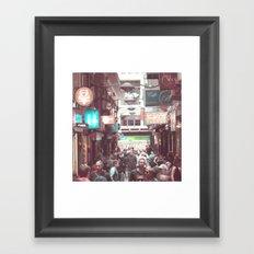 Melbourne Laneway Framed Art Print