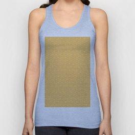 Sashiko stitching Yellow/Ochre/Ocher pattern Unisex Tank Top