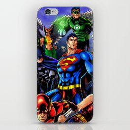 heroes all iPhone Skin