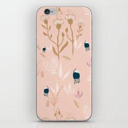 Magic Garden - Pink and Gold iPhone Skin
