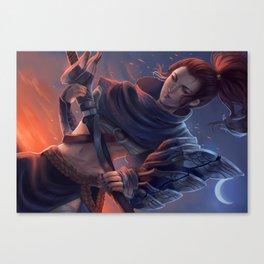 Yasuna Canvas Print