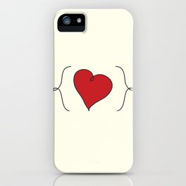 {My Heart} iPhone Case