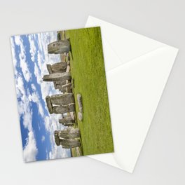 Stonehenge with Cloud Stationery Cards