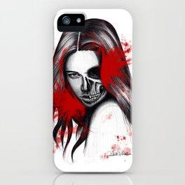The half-demon half-angel woman V2 iPhone Case