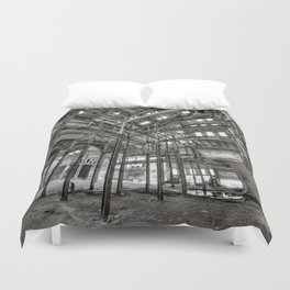 Metallic Structures Duvet Cover