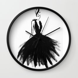 Fashion Is A Lifestyle Wall Clock