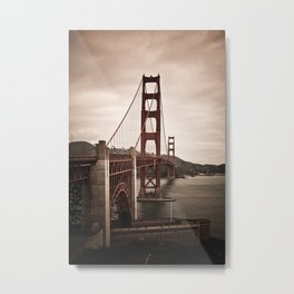 San Francisco, Golden Gate Bridge Metal Print