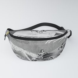 communist Plough the snow and you will have the harvest. Fanny Pack