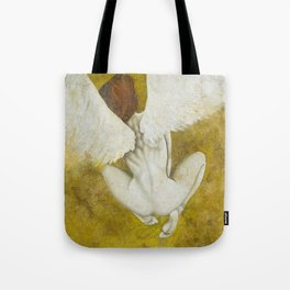 The Gold  Angel Tote Bag