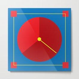 Clock lost Metal Print