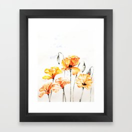 Springful thoughts Framed Art Print