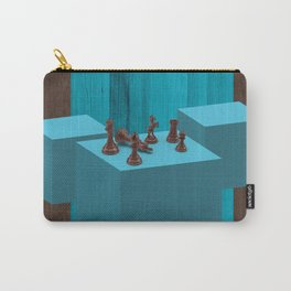 3D Chess Pieces Didital Art Carry-All Pouch