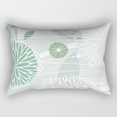 Abstract Floral by Friztin Rectangular Pillow