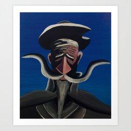 Don Q II Art Print