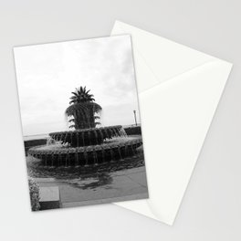 Pineapple Fountain Charleston River Park Stationery Cards