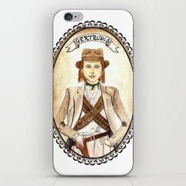 Getrudis from Like Water for Chocolate iPhone Skin