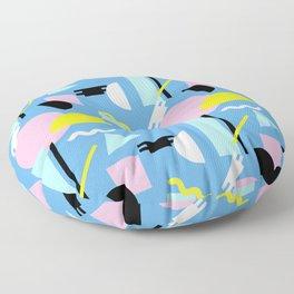 Postmodern Sea Floor Pillow