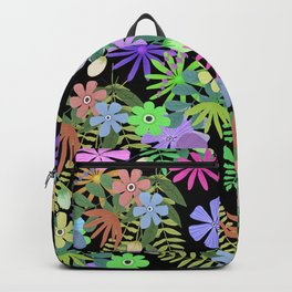 Glade of flowers Backpack