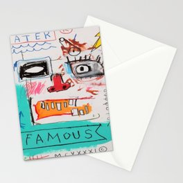 Basquiat Famous Stationery Cards