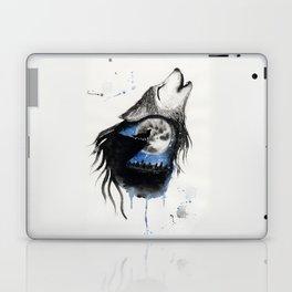 Moon Wolf Laptop & iPad Skin