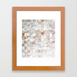 Mother of Pearl #society6 #decor #buyart Framed Art Print