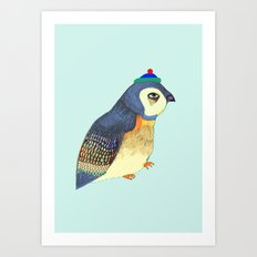 Cutest Penguin Art Print