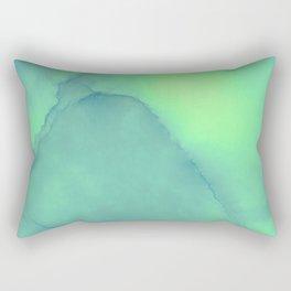 Green gable Rectangular Pillow