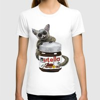 nutella T-shirts featuring Sweet aim // galago and nutella by Anna Shell