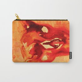 Bloody goat skull Carry-All Pouch