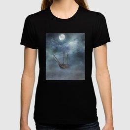 Sailing in the Dark Seas T-shirt
