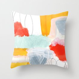 abstract painting XVI Throw Pillow