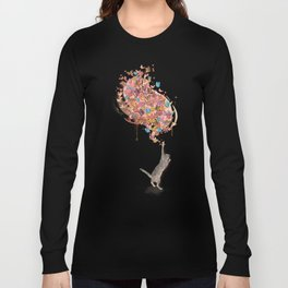 catching butterflies Long Sleeve T-shirt