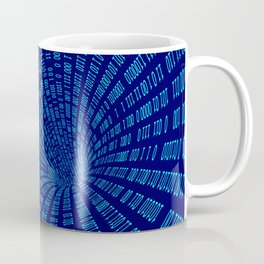 Data stream Coffee Mug