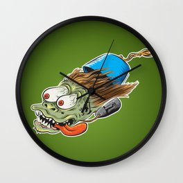 Fezzy Wall Clock