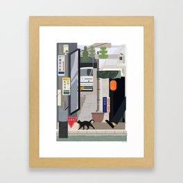Japan Still Life 001   下北沢 Framed Art Print