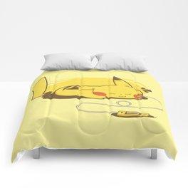 Pikacharger Comforters