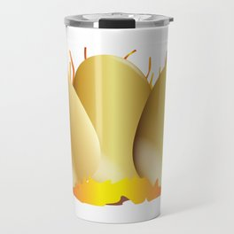 Three Gold Eggs Travel Mug