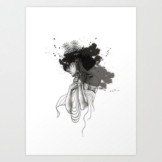Tongue Art Print