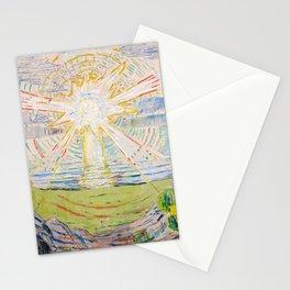 "Edvard Munch ""The Sun"", 1910–11 Stationery Cards"
