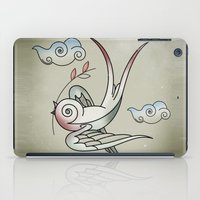 sparrow iPad Cases featuring Sparrow by Vin Zzep