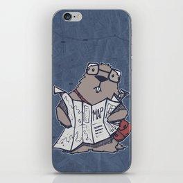 A Geeky Marmot iPhone Skin