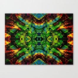Exploding Star Canvas Print