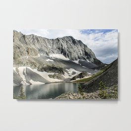 Crestone Peak - Upper South Colony Lake Metal Print
